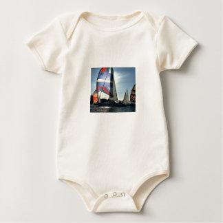 Sail Boat Infant Creeper