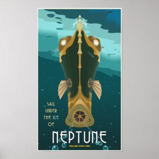 Sail Neptune Poster