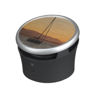 Sailboat At Sunset On The Puget Sound Bluetooth Speaker