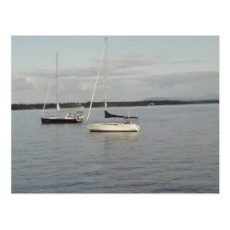sailboat serenity postcard