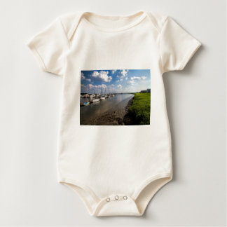Sailboats and Mussel Beds Jekyl Island Georgia Baby Bodysuit