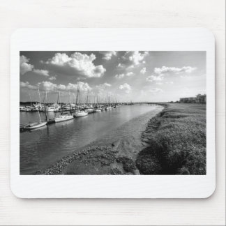 Sailboats and Mussel Beds Jekyl Island Georgia Mouse Pad