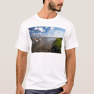 Sailboats and Mussel Beds Jekyl Island Georgia T-Shirt