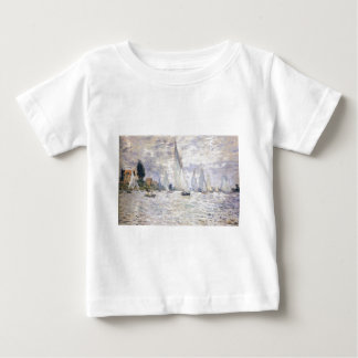 Sailboats - Claude Monet Baby T-Shirt