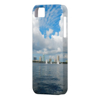 Sailing along,  St. Petersburg Florida waterfront iPhone 5 Cover
