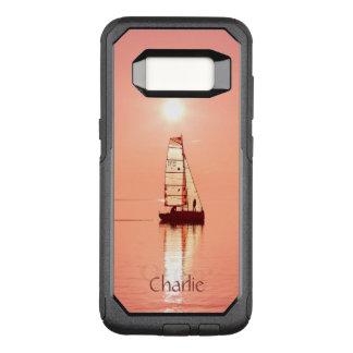Sailing Away custom monogram phone cases