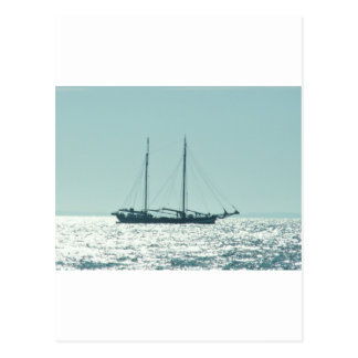 Sailing Barge In The Sun Postcard