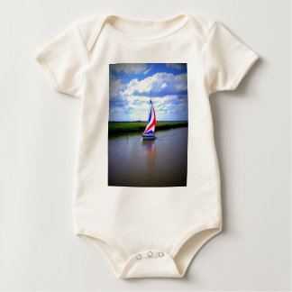 Sailing Boat.JPG Baby Bodysuit