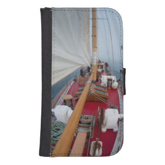 Sailing Boundary Pass Samsung S4 Wallet Case