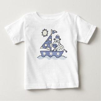Sailing Cow Infant & Toddler Shirt