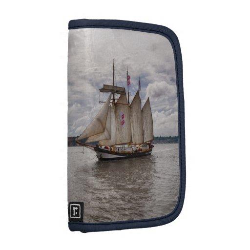 Sailing Ships on Folio Mini Folio Planner