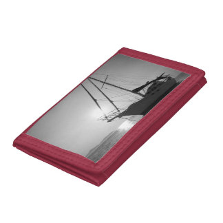sailing trifold wallets