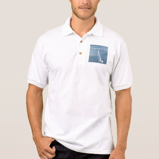 Sailing Wind Design Polo Shirt
