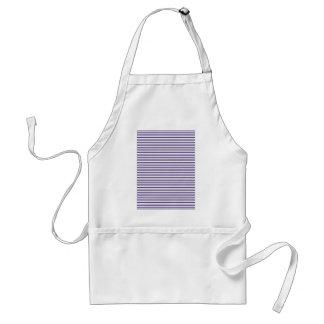 Sailor Stripes - Navy Blue and White Standard Apron