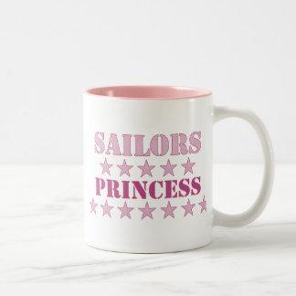 Sailors Princess Two-Tone Mug