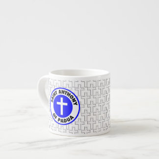 Saint Anthony of Padua Espresso Cup