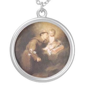 Saint Anthony - sant'Antonio - Hl. Antonius Personalized Necklace