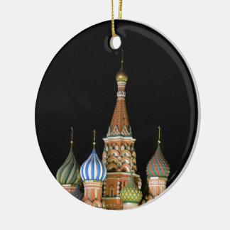 Saint Basil's Cathedral Christmas Ornament