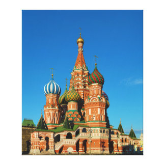 Saint Basil's Cathedral Moscow Russia Gallery Wrap Canvas