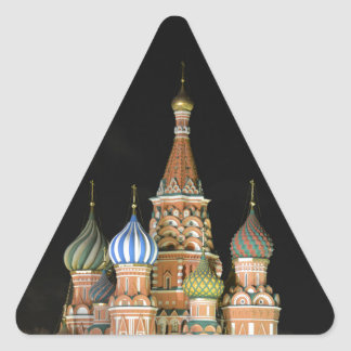 Saint Basil's Cathedral Triangle Sticker