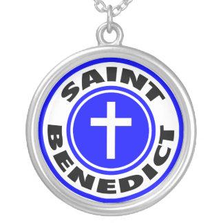 Saint Benedict Personalized Necklace