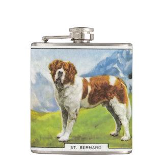 Saint Bernard Hip Flask