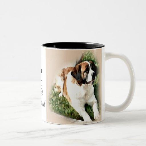 Saint Bernard Lovers Gifts Coffee Mug