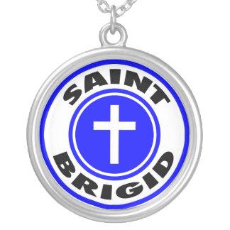 Saint Brigid Personalized Necklace
