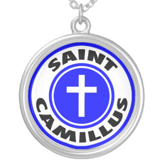 Saint Camillus Custom Necklace