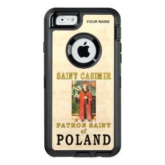 SAINT CASIMIR  (Patron Saint of Poland) OtterBox Defender iPhone Case