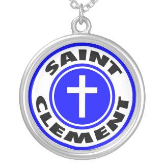 Saint Clement Personalized Necklace