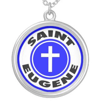 Saint Eugene Personalized Necklace