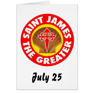 Saint James the Greater Card