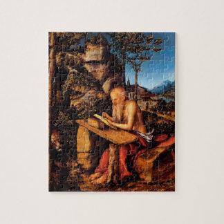 Saint Jerome by Lucas Cranach the Elder Jigsaw Puzzle