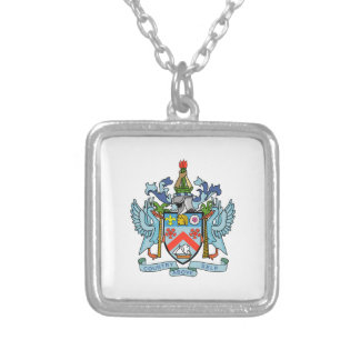 Saint Kitts and Nevis Coat of Arms Custom Jewelry