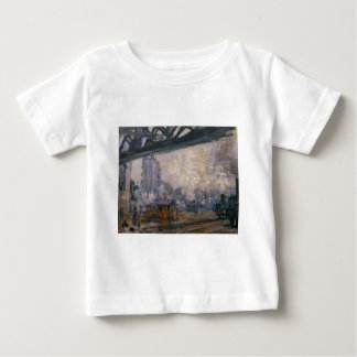 Saint-Lazare Station, Exterior View by Claude Baby T-Shirt