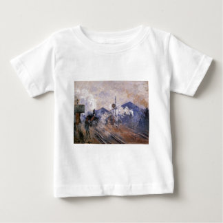 Saint-Lazare Station, Track Coming out by Claude Baby T-Shirt