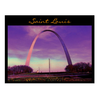 Saint Louis Arch Postcard