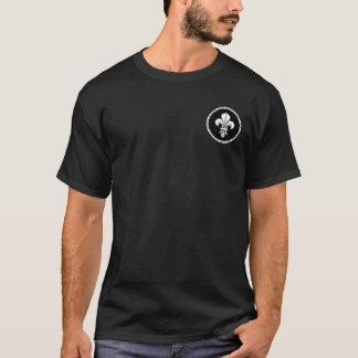 Saint Louis IX Black & White Seal Shirt