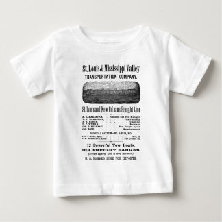 SAINT LOUIS MISSISSIPPI VALLEY TRANSPORTATION CO BABY T-Shirt