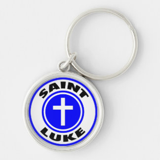 Saint Luke Key Ring