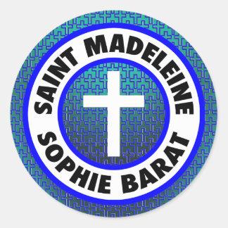 Saint Madeleine Sophie Barat Classic Round Sticker
