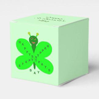 Saint Patrick's Day Butterfly Custom Favor Box