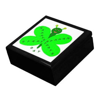 Saint Patricks Day Butterfly Gift Box