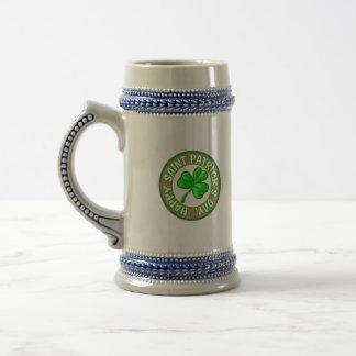 Saint Patricks Day Mug. Beer Stein