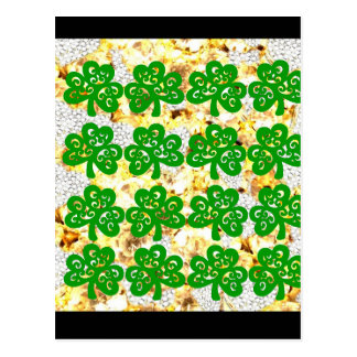 SAINT PATRICKS DAY POSTCARD