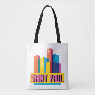 Saint Paul in Design Tote Bag