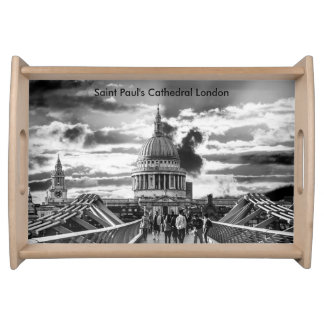 Saint Paul's Cathedral London. Serving Tray