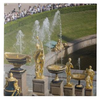 Saint Petersburg, Grand Cascade fountains 8 Tile