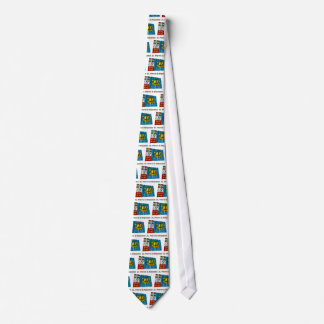 Saint-Pierre and Miquelon Waving Flag with Name Tie